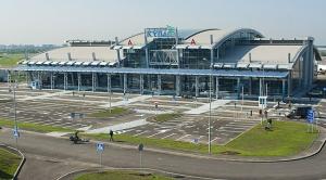 Украина, международный аэропорт Киев, общество