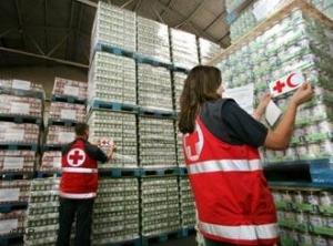 Красный крест, гуманитарная помощь, Донбасс, АТО