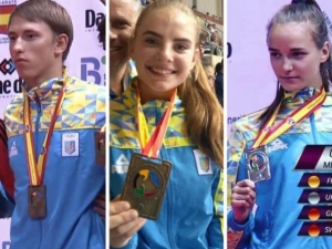 украина, спорт, каратэ, чемпионат, медали