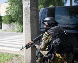 Антрацит, АТО, восточная Украина, Донбасс,