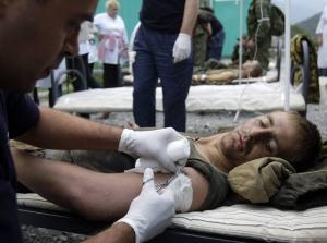 АТО, медики, раненые, ДНР, ЛНР, Нацгвардия, Вооруженные силы Украины, Армия Украины