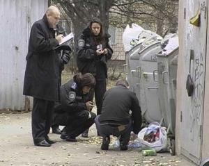 киев, тело новорожденного, мусорный бак, убийство