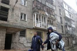 ООН, помощь, гуманитарка, пленка, окна, жители, Мариуполь, обстрел