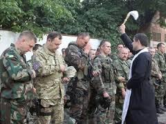 АТО, батальон, Сечь, зона, Донбасс, отправление