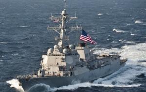 Украина, Черное море, Эсминец, ВМС США, James Williams, Российская агрессия, Крым, Аннексия