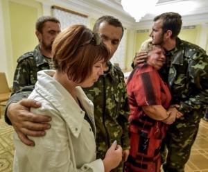 юго-восток, военнопленные, Украина, Донбасс, АТО, ДНР, Донецкая республика, Донецк, Порошенко, Президент Украины