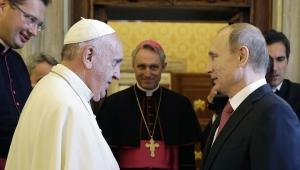 папа, римский, путин, франциск, аудиенция, церковь, буду, молиться, за тебя, большие, надежды, путиным, единомышленники