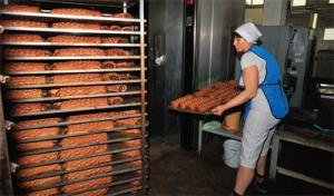 украинские военные, пекарня, станица луганская