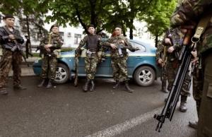 """луганск, террористы """"лнр"""", наемники в луганске, перестрелка, происшествия, украина"""