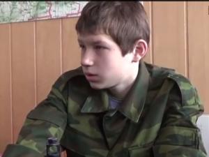 малыш, казаки лнр, ребенок, война