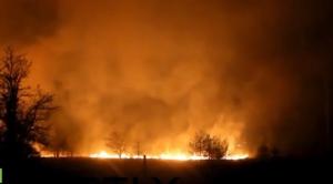 пожар, чернобыль, украина, аэс
