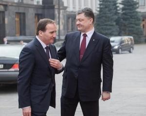 порошенко, швеция, донбасс, восток украины, политика, общество