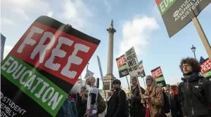 студенты, лондон, задержание, полиция