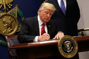 Дональд Трамп, ограничение въезда в США