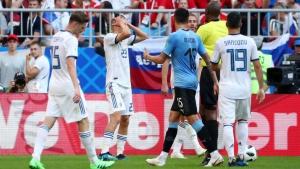 чемпионат россии, футбол, новости футбола, уругвай-россия, боярский, черчесов, чм - 2018, все голы, поражение