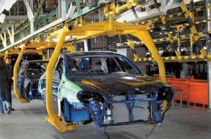 Автомобили, производство, Украина, падение, снижение
