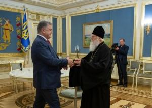 Украина, Церковь, Порошенко, Филарет, УПЦ КП, Поздравление, Заявление.