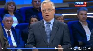 петр симоненко, кпу, истерика, телевидение, россия 1, донбасс, новости украины