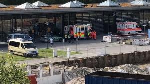 мюнхен, германия, стрельба. вокзал, происшествия, полиция