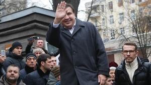 саакашвили, грузия, украина, рух нових сил, скандал, политика, кремль, россия