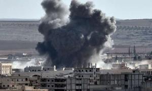 сирия, война в сирии, карта сирии, россия, су-25, идлиб, серакаб, химоружие