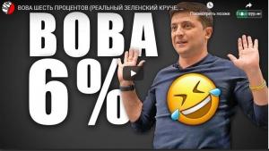 """зеленский, выборы, украина, скандал, выборы, политика, общество, бизнес """"Вова шесть процентов: реальный Зеленский круче, чем Лига Смеха"""", - видео"""
