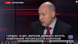 гордон ДНР, ЛНР, восток Украины, Донбасс, Россия, выборы, Минск, политика
