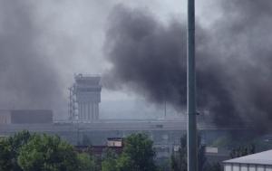 донецк, аэропорт, взрывы, погибшие