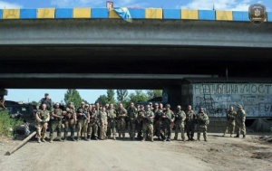 """батальон """"днепр-1"""", пески, всу"""