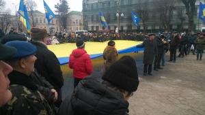 """Украина, Винница, общество, митинг, """"Свобода"""", палатки, активисты, губернатор"""