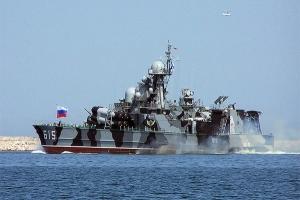 Крым, учения морских пехотинцев, Черноморский Флот