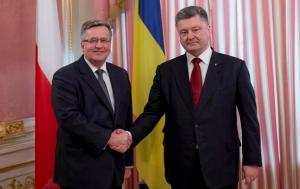 Коморовский, Порошенко, Украина, Польша, ЕС, НАТО, политика