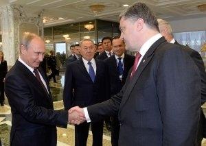 Петр Порошенко, Владимир Путин, Донбасс, прекращение огня, Украина, взаимопонимание