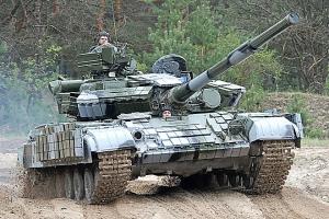 Пески, танки, прибытие, боевики