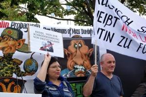 Германия, Игорь Эйдман, Акции протеста, Кремль, Владимир Путин