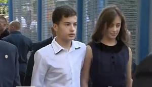 Петр Порошенко, дети, первый звонок, 1 сентября, киев, общество
