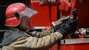 АТО, восток Украины, Донбасс,Донецк, пожар