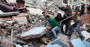 Непал, землетрясение, общество, самолет