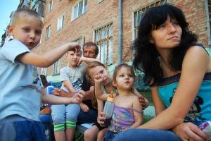 кпп донецк, кпп гуково, новости россии, беженцы, новости украины, юго-восток украины, донбасс, общество