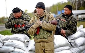 ополченцы, красный партизан, перемирие, блокпост, украинская сторона