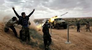 Ливия, аэропорт, обстрел, град, закрыт