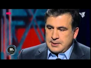 Михаил Саакашвили, «Я, як громадянин України, не здам цю країну!», Шустер Live