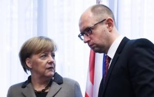 Киев, Меркель, Яценюк, пресс-конференция, реформы, инвестиции