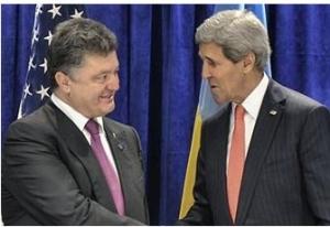 Порошенко, Керри, Луганск, миссия, гуманитарная помощь