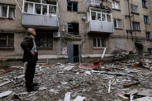 Славянск, Донецкая область, ДНР, Донбасс, АТО, Нацгвардия, восстановление, казначейская служба