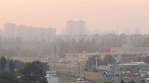 новости Украины, Киев, пожар, дым