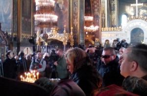 денис вороненков, убийство, похороны, прощание, фото, видео, мария максакова, владимирский собор, чп, происшествия, новости украины