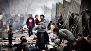 война в сирии, турецкая граница, сирийский беженцы, Башар Асад,