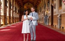 Принц Гарри и Меган Маркл впервые показали новорожденного сына: милейшие кадры