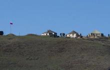 Военные РФ разбили лагерь на границе Армении и Азербайджана - кадры обошли Сеть